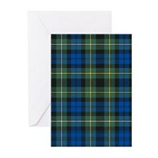 Tartan - Campbell of Argyll Greeting Cards (Pk of