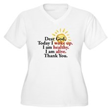 Dear God. Thank You. Plus Size T-Shirt
