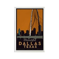 Dallas Bridge Magnets (10 Pack)