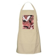 Red Feathers Apron