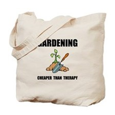 Gardening Therapy Tote Bag