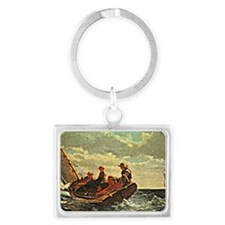 Breezing up a Fair Wind, Winslo Landscape Keychain