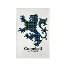 Lion - Campbell of Argyll Rectangle Magnet (100 pa
