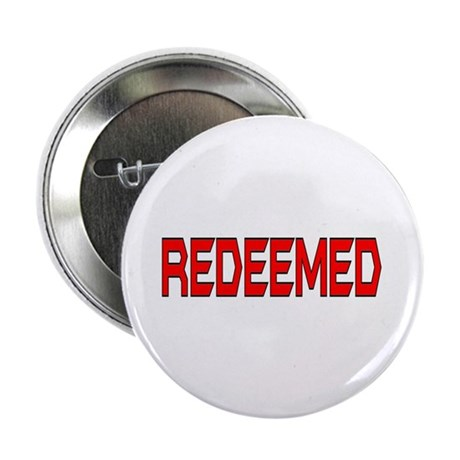 "Redeemed 2.25"" Button (10 pack)"