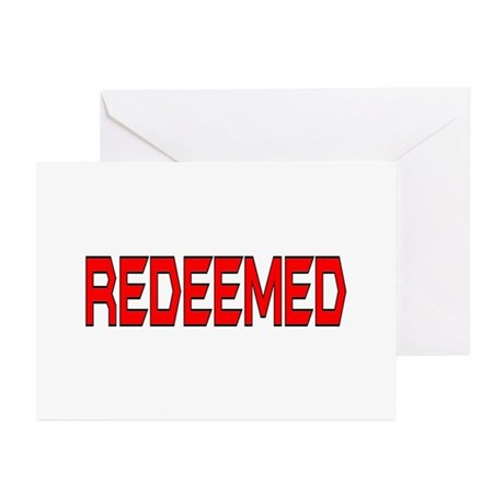 Redeemed Greeting Cards (Pk of 10)