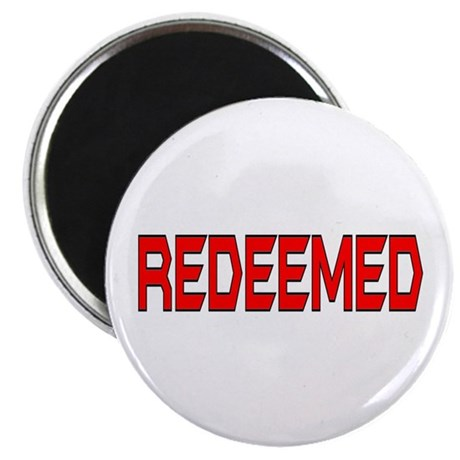 "Redeemed 2.25"" Magnet (100 pack)"