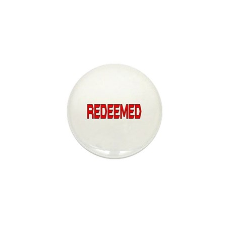 Redeemed Mini Button