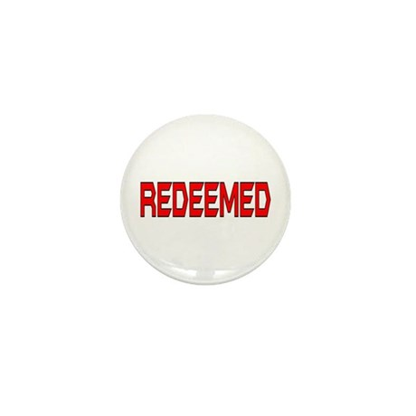 Redeemed Mini Button (10 pack)