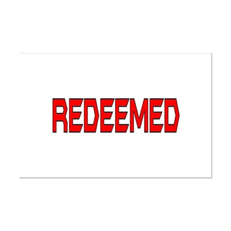 Redeemed Mini Poster Print