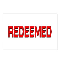 Redeemed Postcards (Package of 8)