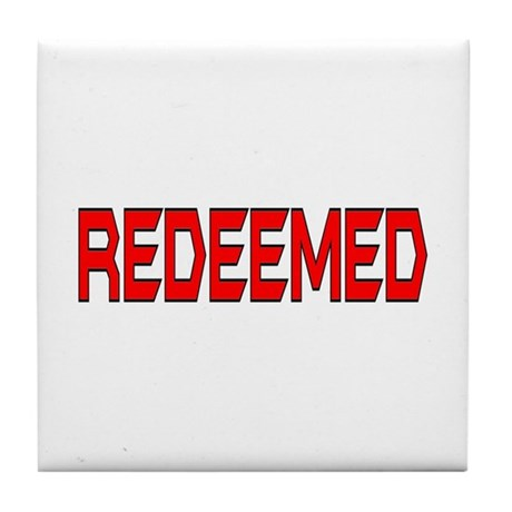 Redeemed Tile Coaster