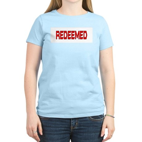 Redeemed Women's Pink T-Shirt