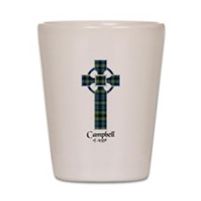 Cross - Campbell of Argyll Shot Glass