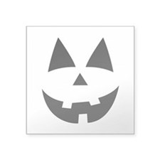 Pumpkin Face Sticker