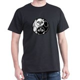 Yin and Yang Panda T-Shirt