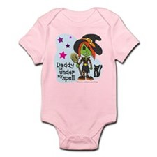 Witch (Daddy is under my spell) Infant Bodysuit