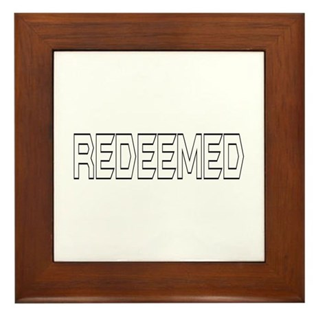 Redeemed Framed Tile