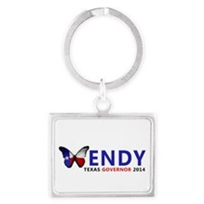 Texas Governor Butterfly Wendy Davis 2014 Keychain
