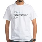Hail to the Thief 2+2 Devils Way black and blue T-