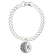 Trendy Animal Print Monogram Bracelet