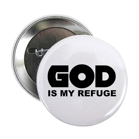 "God's Refuge 2.25"" Button (10 pack)"