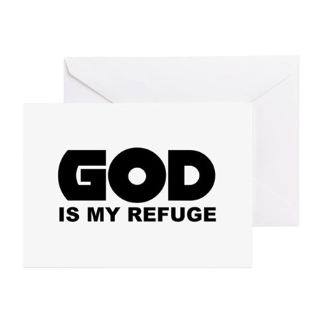 God's Refuge Greeting Cards (Pk of 10)