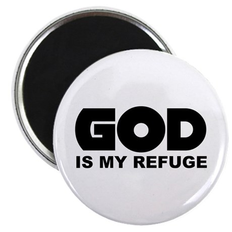 "God's Refuge 2.25"" Magnet (100 pack)"