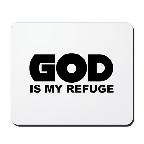 God's Refuge Mousepad