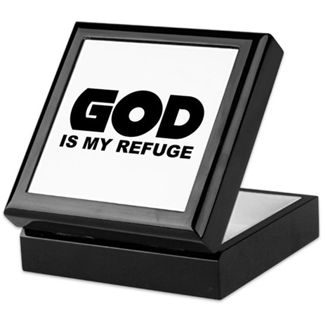 God's Refuge Keepsake Box