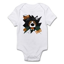 Beagle Vampire Halloween Infant Bodysuit