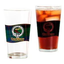 Davidson Clan Drinking Glass