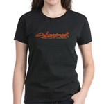 CYBERPUNK OUTLINE Women's Dark T-Shirt