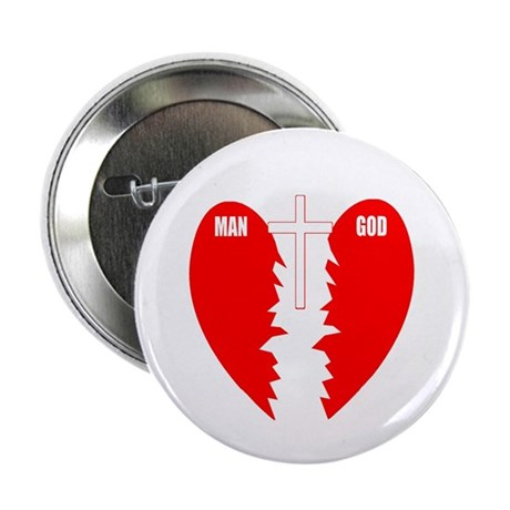 "Jesus is the Bridge 2.25"" Button (100 pack)"