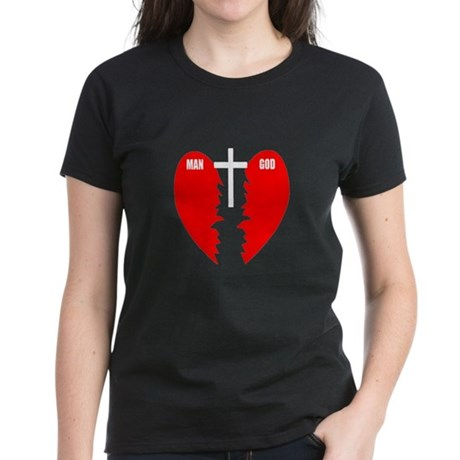 Jesus is the Bridge Women's Dark T-Shirt
