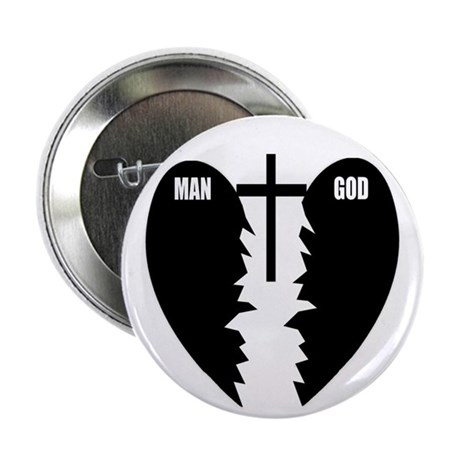 Jesus is the Bridge 2.25&quot; Button (10 pack)