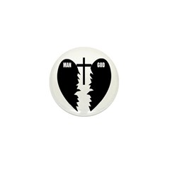 Jesus is the Bridge Mini Button (100 pack)