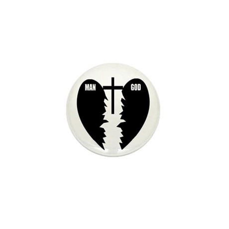 Jesus is the Bridge Mini Button (10 pack)