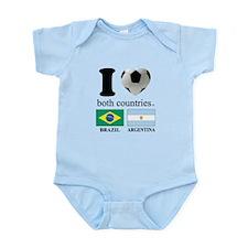 BRAZIL-ARGENTINA Infant Bodysuit