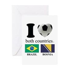 BRAZIL-BOSNIA Greeting Card