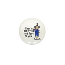 Mr. Old Fart Mini Button (10 pack)