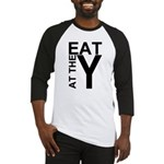EAT AT THE Y Baseball Jersey