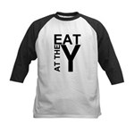 EAT AT THE Y Kids Baseball Jersey