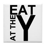 EAT AT THE Y Tile Coaster