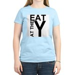 EAT AT THE Y Women's Pink T-Shirt