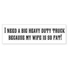 Unique Duty Bumper Sticker