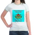 Sweetheart Meet Me Under The Jr. Ringer T-Shirt