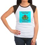 Sweetheart Meet Me Under The Women's Cap Sleeve T