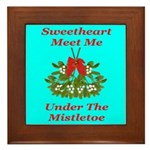 Sweetheart Meet Me Under The Framed Tile