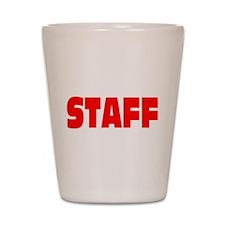 Staff Shirt Shot Glass