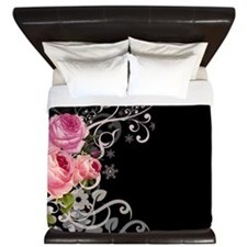 Rose Elegance King Duvet